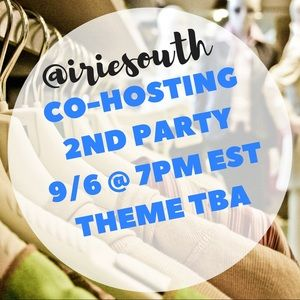 Other - Co-Hosting Department Party 9/6 @ 7PM theme tba